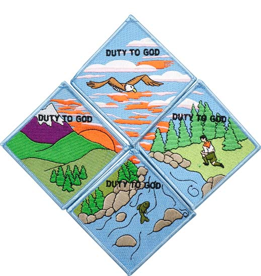 Duty to God Promotion Patches