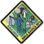 Boulders Bible Patch